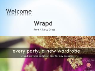 Wrapd - Wedding Dress Available On Rent
