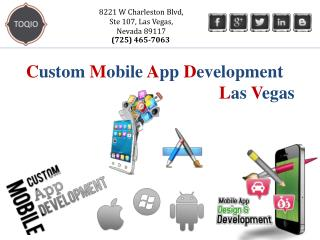 TOQIO | Custom Mobile Apps Development Las Vegas