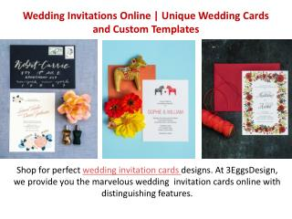 Wedding Invitations Online|Unique Wedding Cards  and Custom Templates