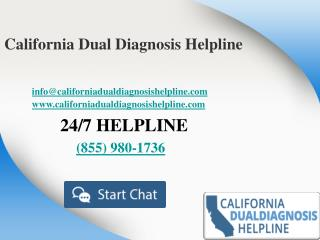 California Dual Diagnosis Helpline