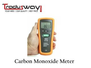 About Carbon Monoxide Meter