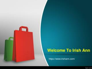 Buy onlibe Clothing Gifts from Ireland