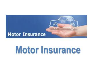 MOTOR VEHICLE INSURANCE QUOTE