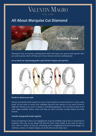 Best Way to Pick the Perfect Eternity Wedding Band for Your Partner