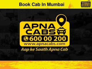 Book Cab in Mumbai