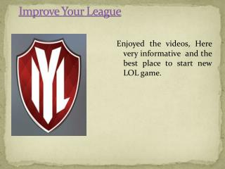 Best Guide For League of Legends Game