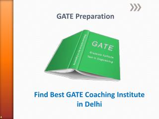 Perfect Coaching For GATE In Delhi