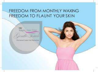 Permanent Hair Reduction - Freedom from Monthly Waxing