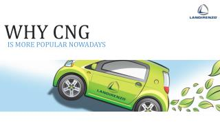Why CNG ? -Landirenzo Pakistan