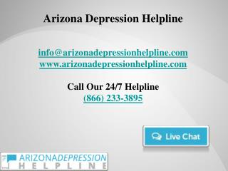 Arizona Depression Helpline