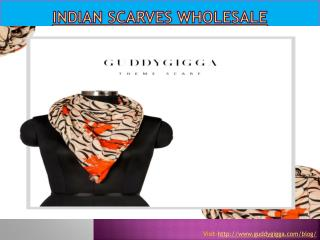 Indian scarves wholesale