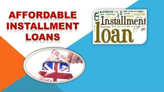 Affordable Installment Loans