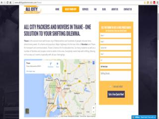Packers and Movers in Thane - All City Packers and Movers®