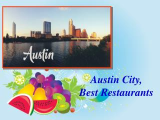 Best Restaurants In Austin