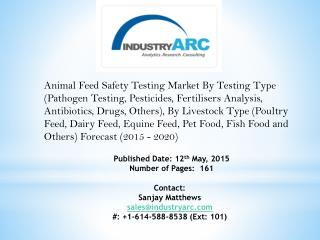 Animal Feed Safety Testing Market: prominent in countries with large number of livestock.