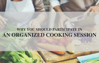 Why should you participate in a cooking session?