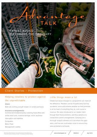 Advantage Talk Case Study - Retail Company