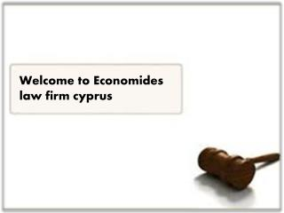 Welcome to Economides law firm cyprus