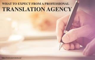 Things to consider before hiring a professional translation agency