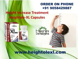 Grow Taller Naturally with Heightole XL Capsules