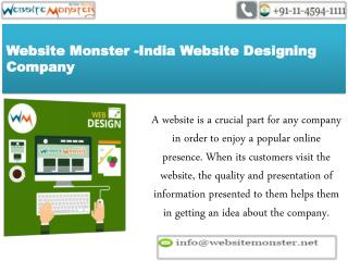 Greatest Website Design & Development Company In India