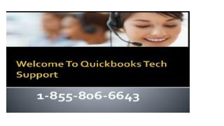 Quickbooks Technical support Number CANADA 1-855-806-6643