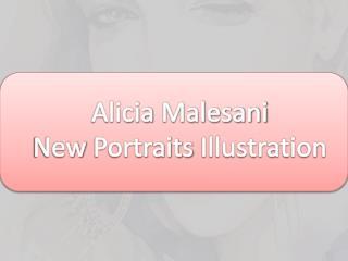 Alicia Malesani New Portraits Illustration