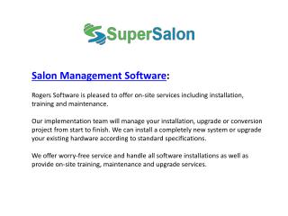 Salon Management Software