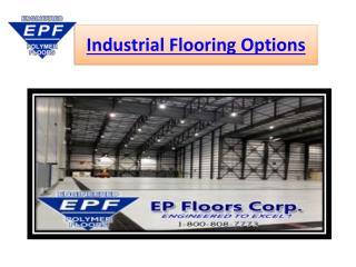 Industrial Flooring Options