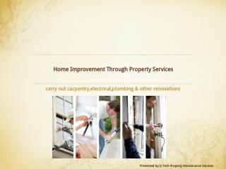 Home Improvement Through Property Services