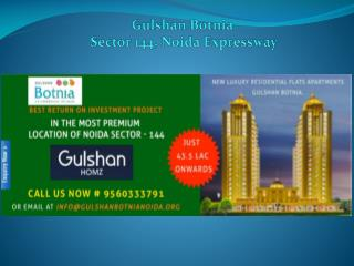 Gulshan Homz Launches New Project Gulshan Botnia