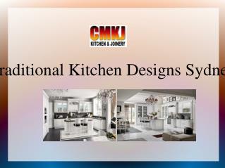 Traditional Kitchen Designs Sydney