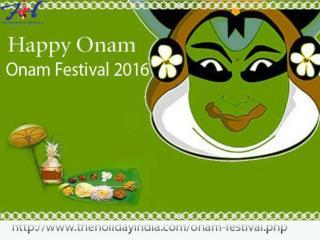 Onam festival kerla trip 2016