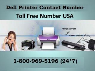 Best 1-800-969-5196 Dell Printer Contact Phone Number