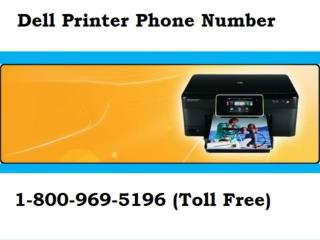 Best 1-800-969-5196 Dell Printer Number