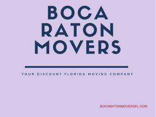 Movers Boca Raton