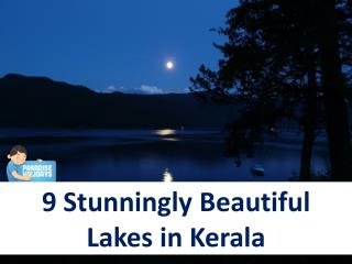 9 Stunningly Beautiful Lakes in Kerala