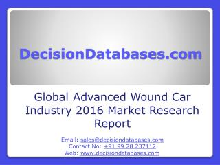 Global  Advanced Wound Care Industry Share and 2021 Forecasts Analysis