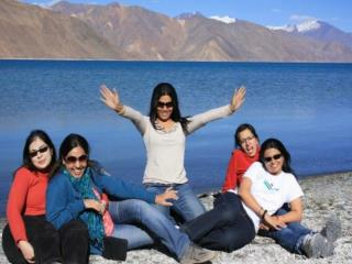Explore the world with women's group trip