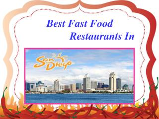San Diego Best Restaurants