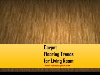 Carpet Flooring Trends for Living Room