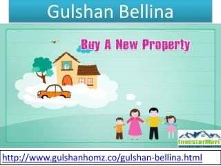 Gulshan Bellina Attractive Price List