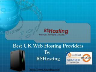 Best UK Web Hosting Provider - RSHosting