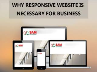 Why responsive web designing is necessary for business