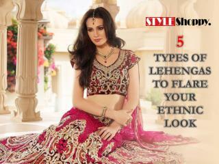 5 Designer Lehengas to Flare Your Ethnic Look