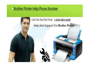 1-855-662-4436 Brother Printer Support Phone Number