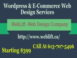 Website Design Services Ottawa – Weblift
