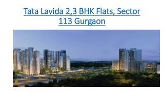 Tata Lavida - | 9696200200 | sector 113 Gurgaon