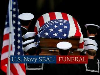 U.S. Navy SEAL funeral
