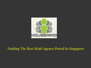 Best Maid Agency Portal